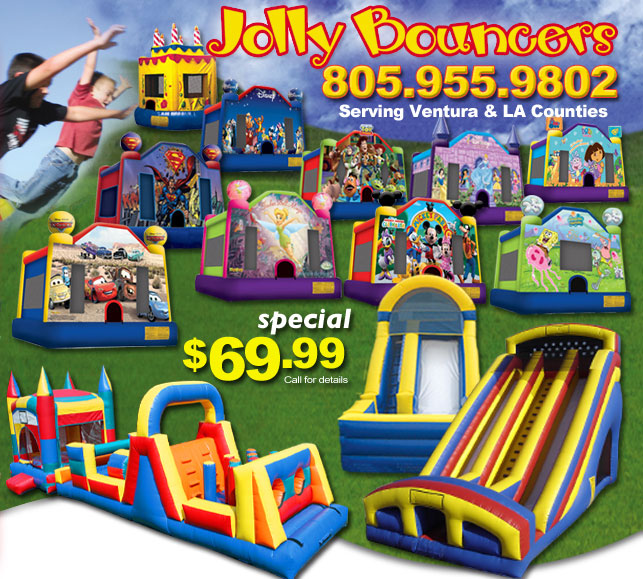 Bounce Houses Rental Los Angeles