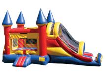 4-1 Jumbo Castle Slide- (1-1.5 Blowers)