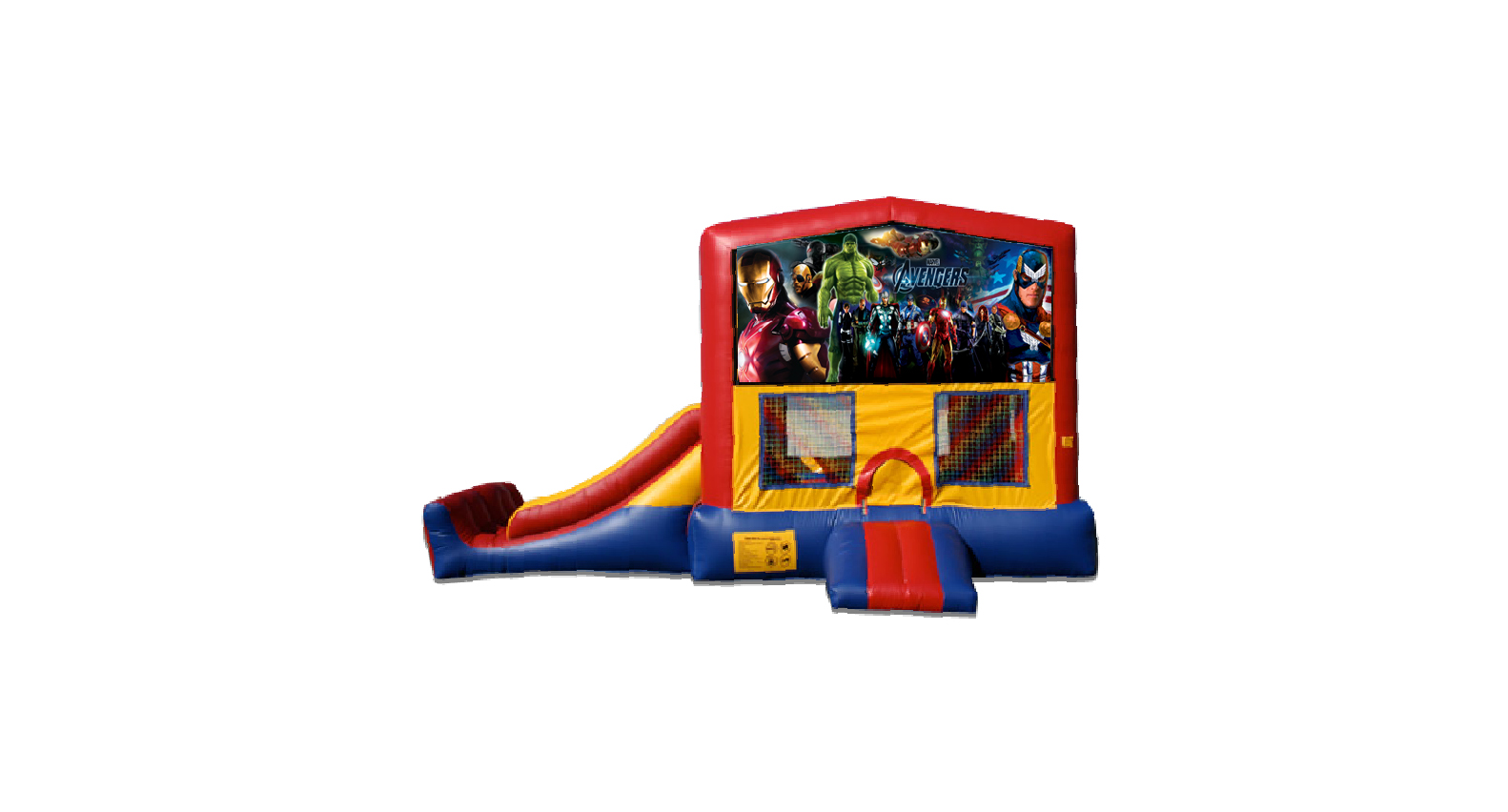 Avengers 3 in 1 Mini Slide