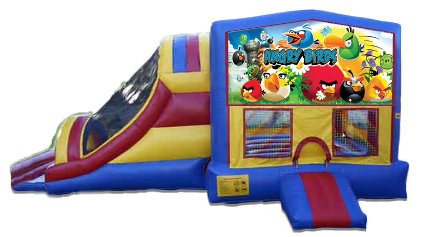 Angry Birds 4 in 1 Jumbo Dual Lane Connect