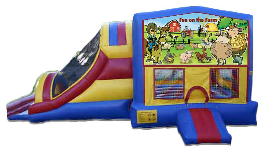 Farm Fun 4 in 1 Jumbo Slide
