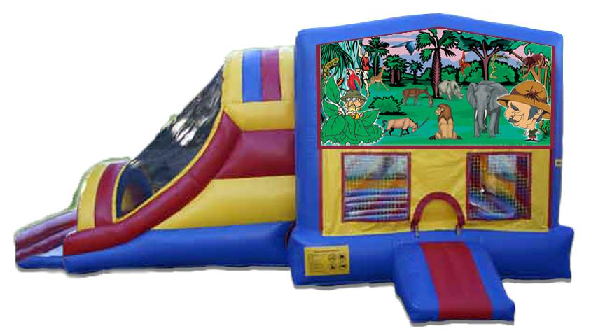 Jungle 4 in 1 Jumbo Slide