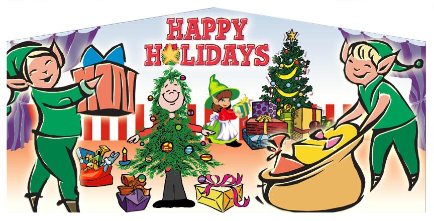 13x13 Holiday (Happy Holidays)