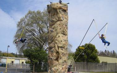Rock Wall & Monkey Jumps