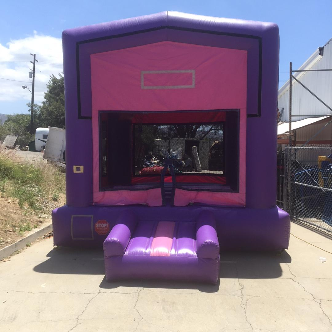 13x13 Pink and Purple Modular Bouncer