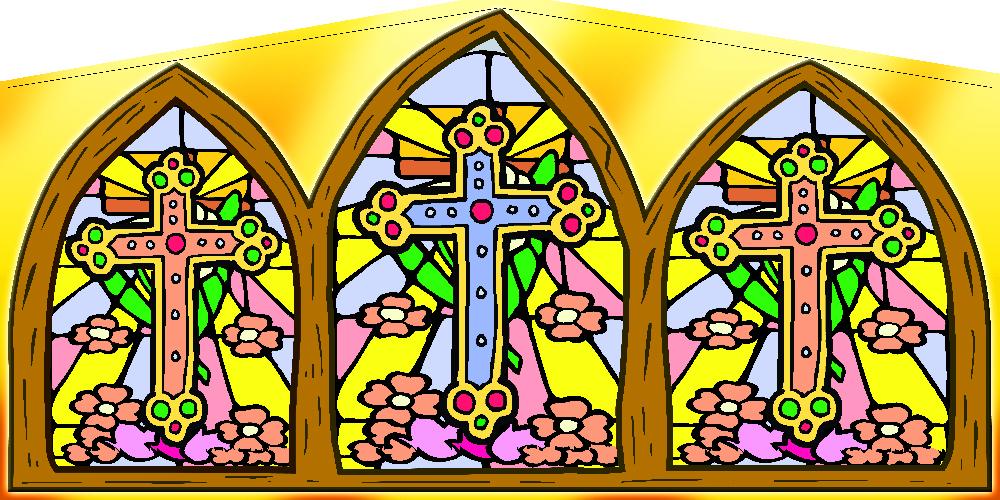 Religious (Crosses) Panel