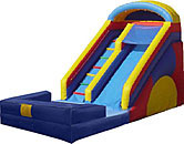18FT Slide #1 wet and dry (Water option extra)