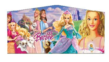 Barbie On Pegasus Panel