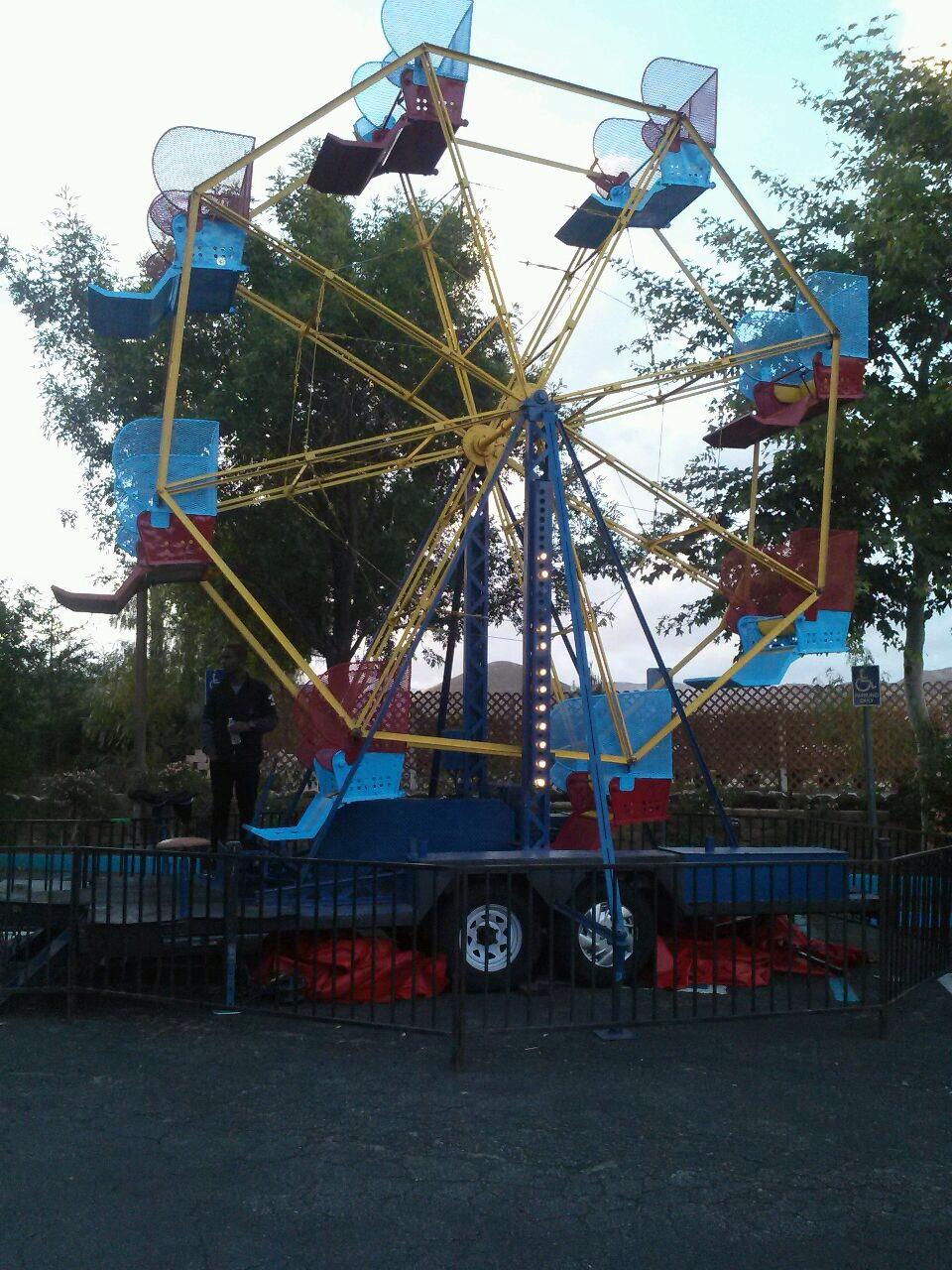 25 ft Faris Wheel