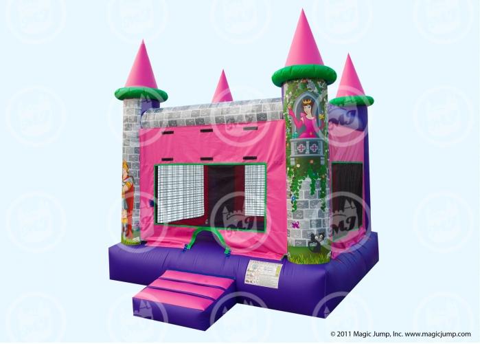 15x15 Pink Princess Castle
