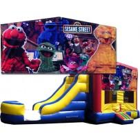 Sesame Street 4 in 1 Jumbo Slide