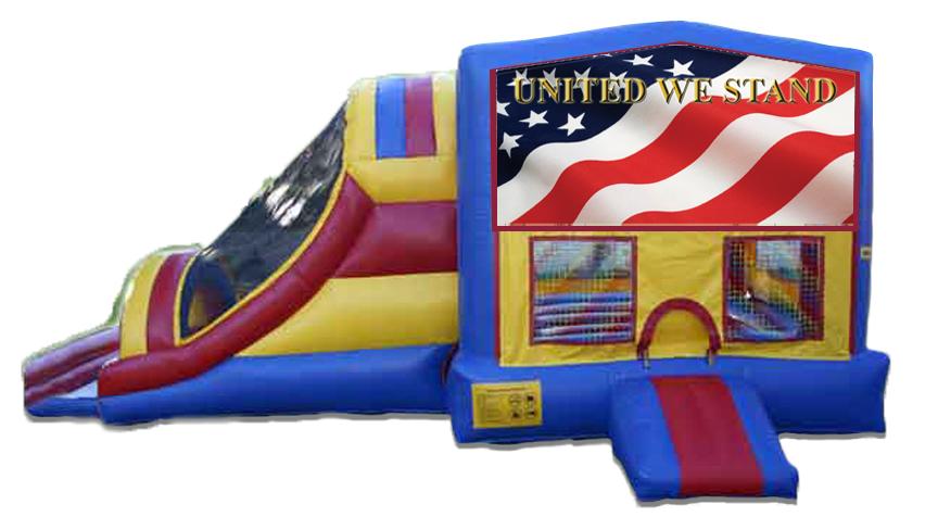 American Flag #1 4 in 1 Jumbo Slide