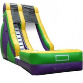 18 FT Wave Slide #2 green (WET OR DRY) $50 EXTRA FOR WET #B138