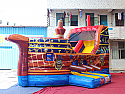 Pirate Ship Slide and Bouncer Inflatable Combo (WET OR DRY) $50 EXTRA FOR WET #TB169