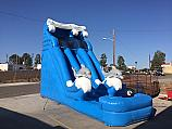 18 FT Dolphin Dual Lane Water Slide (WET OR DRY) $50 EXTRA FOR WET #TB260